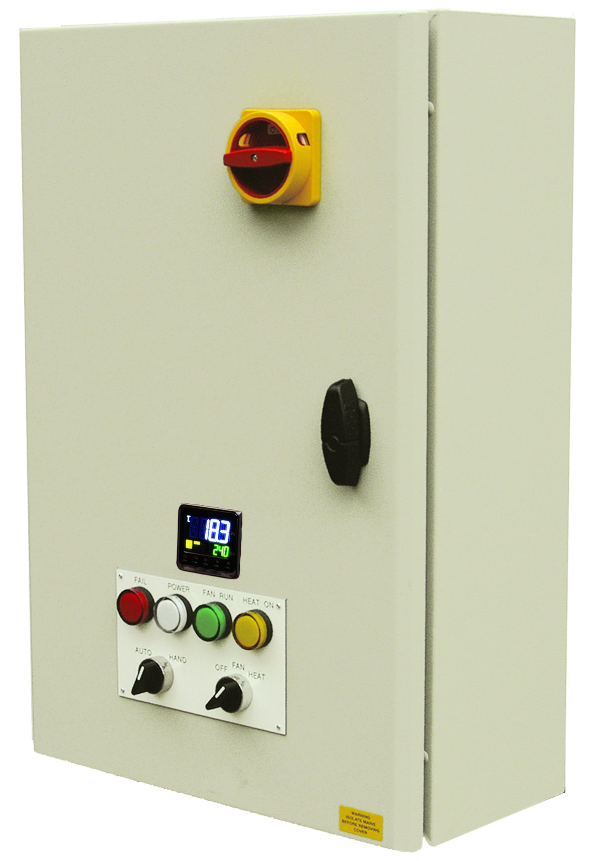 Low pressure hot water controllers